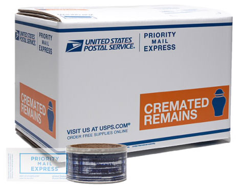 Priority Mail Express Cremated Remains